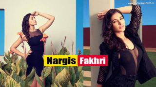 Bombshell Nargis Fakhri Hot Photoshoot In Bold Black Dress