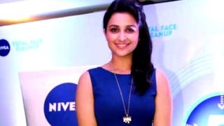 Parineeti Chopra At Winners of Nivea Total Face Clean Up Contest