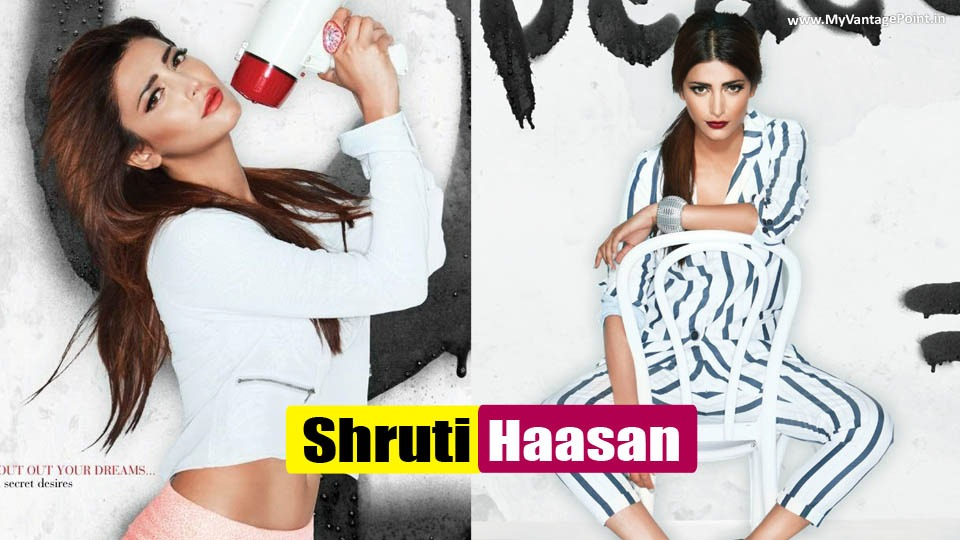 Shruti Haasan Hot & Sexy Scans From Filmfare September 2013