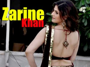 Read more about the article Zarine Khan Spicy Pics In a Red Saree at GJIWL Launch Event