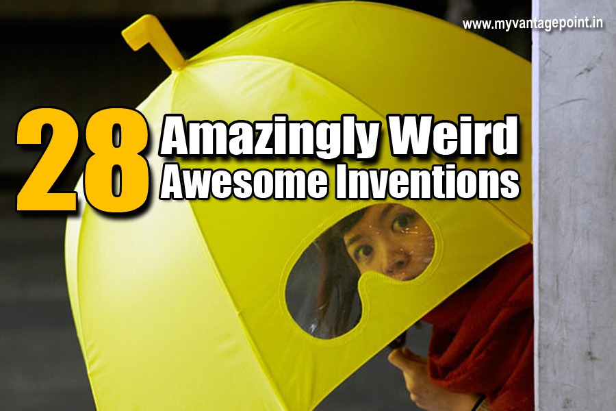 28 Amazingly Weird and Awesome Inventions You'll Definitely Love
