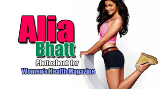 Alia Bhatt on Women's Health Magazine Cover