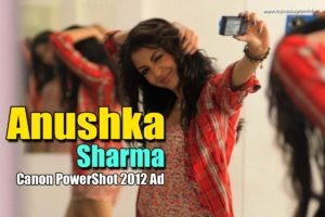 Read more about the article Anushka Sharma Hot & Cool Screen Caps from Canon PowerShot 2012 Ad
