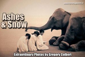 Ashes & Snow photos by Gregory Colbert