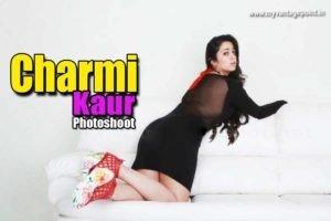 Charmi Kaur in Sexy Avatar for her Latest Photoshoot