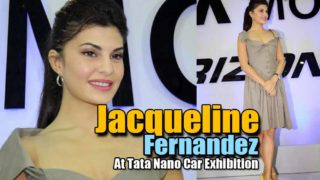 Jacqueline Fernandez Dazzling Pics At Tata Nano Car Exhibition