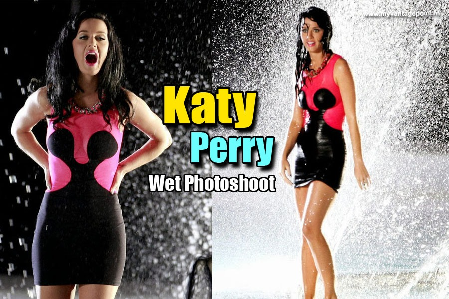 Katy Perry hot wet photos