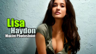 Lisa Haydon Hot Bikini Photoshoot For Maxim India
