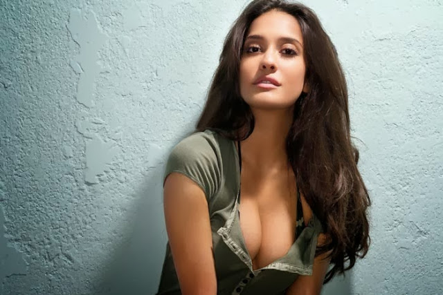 Lisa Haydon in tight dress, Lisa Haydon smile, Lisa Haydon masala photos