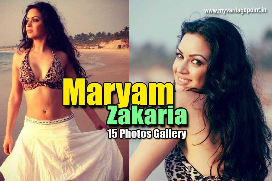 Maryam Zakaria hottest photos collection