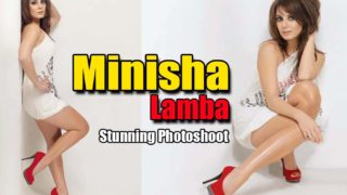 Minissha Lamba Hot Photoshoot Pics