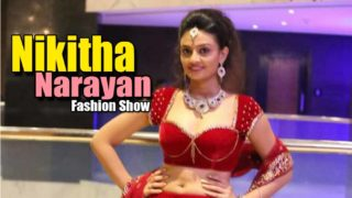 Nikitha Narayan Ramp Walk In Fashionology Fashion Show_2013