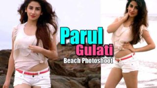 Parul Gulati Hot Photoshoot at Beach