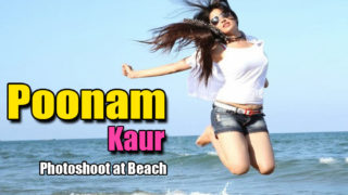 Poonam Kaur Stunning Photoshoot at Beach