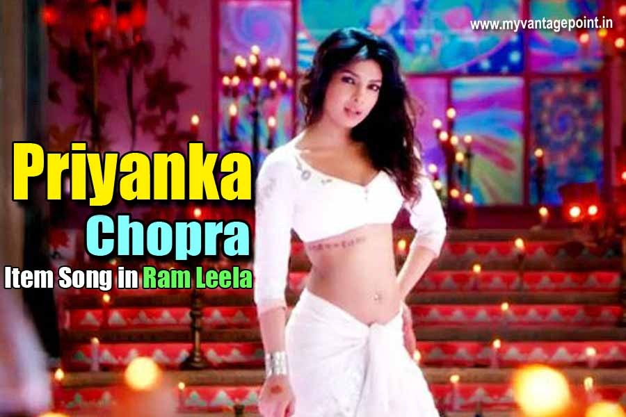 Priyanka Chopra hot item song still in ram leela