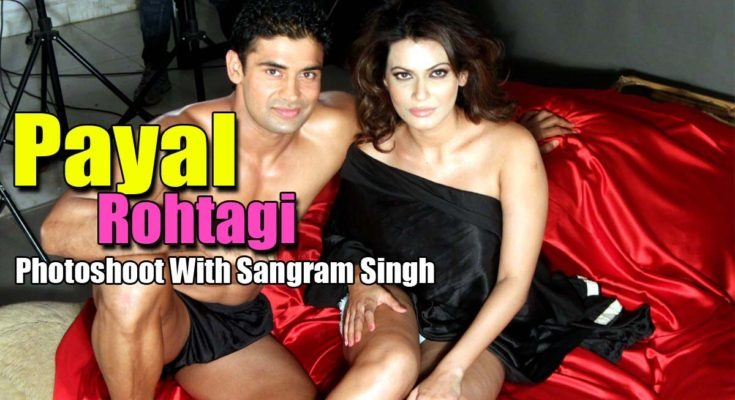 Payal Rohtagi With Her Beau Wrestler Sangram Singh To Promote Their Live-In Relationship