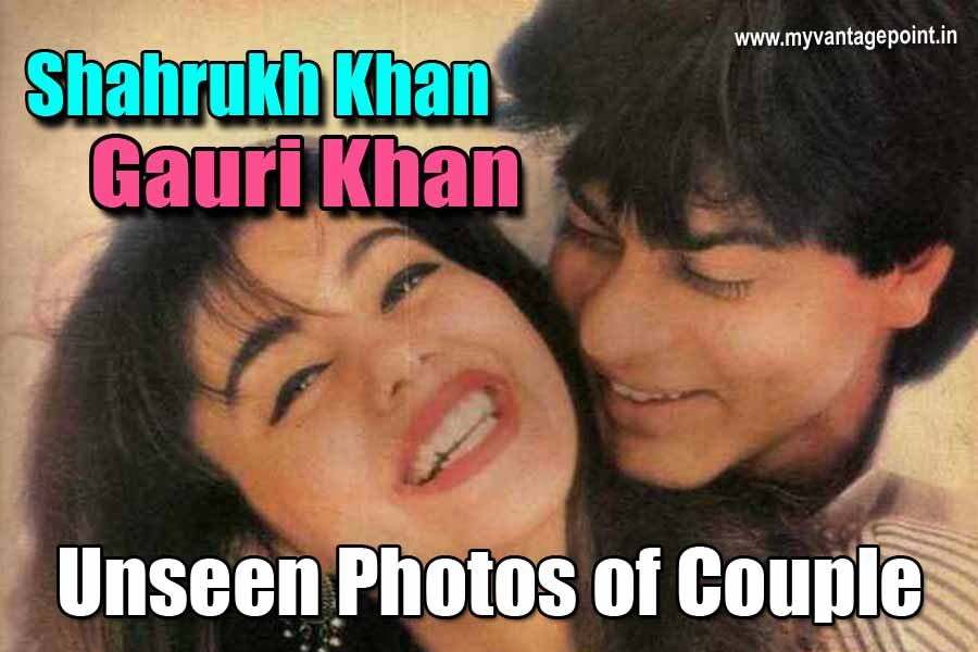 Shahrukh Khan and Gauri's Romantic Pictures We Bet You Have Never Seen Before