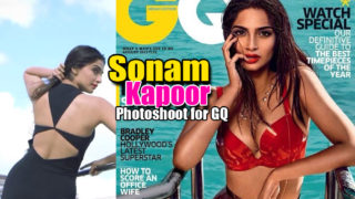 Sonam Kapoor's Bikini Photoshoot For GQ Magazine..Its HOT AS HELL!!!