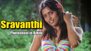 South Hot Sravanthi Sexy Bikini Photoshoot Stills