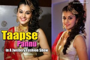 Read more about the article Taapsee Pannu Stunning Stills in Jewellery From A Fashion Show