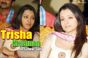 Read more about the article Trisha in White Salwar Kameez at an Event