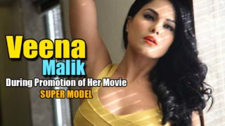 Veena Malik while promoting her film, Super Model, in Indore