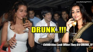 Celebrities Look When They Are DRUNK, bollywood actress party pictures, bollywood actors drunk photos, bollywood party photos, shahrukh khan party photos, amisha patel drunk