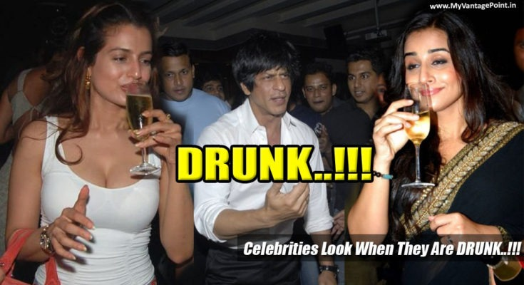 How Bollywood Celebrities Look When They Are DRUNK..!!!