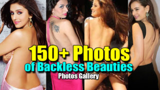 150+ Photos Gallery of Bollywood & Tollywood Sexiest Backless Beauties…HOT AS HELL..Biggest BACKSHOW Ever!!!