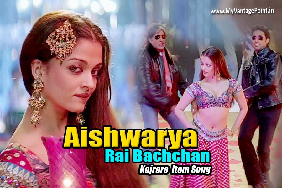Aishwarya Rai navel in kajra re