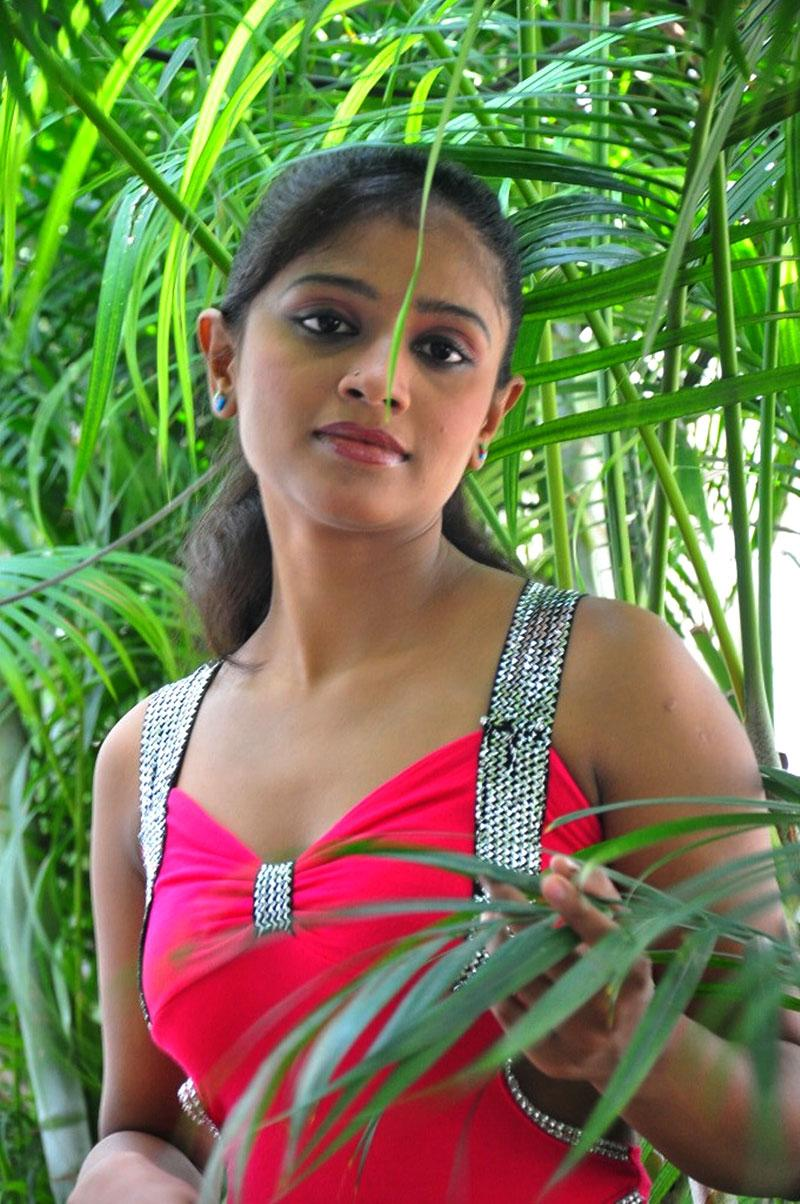 Anusri spicy navel, Anusri in tight dress, Anusri Hot Stills in Pink Dress - VP (12)