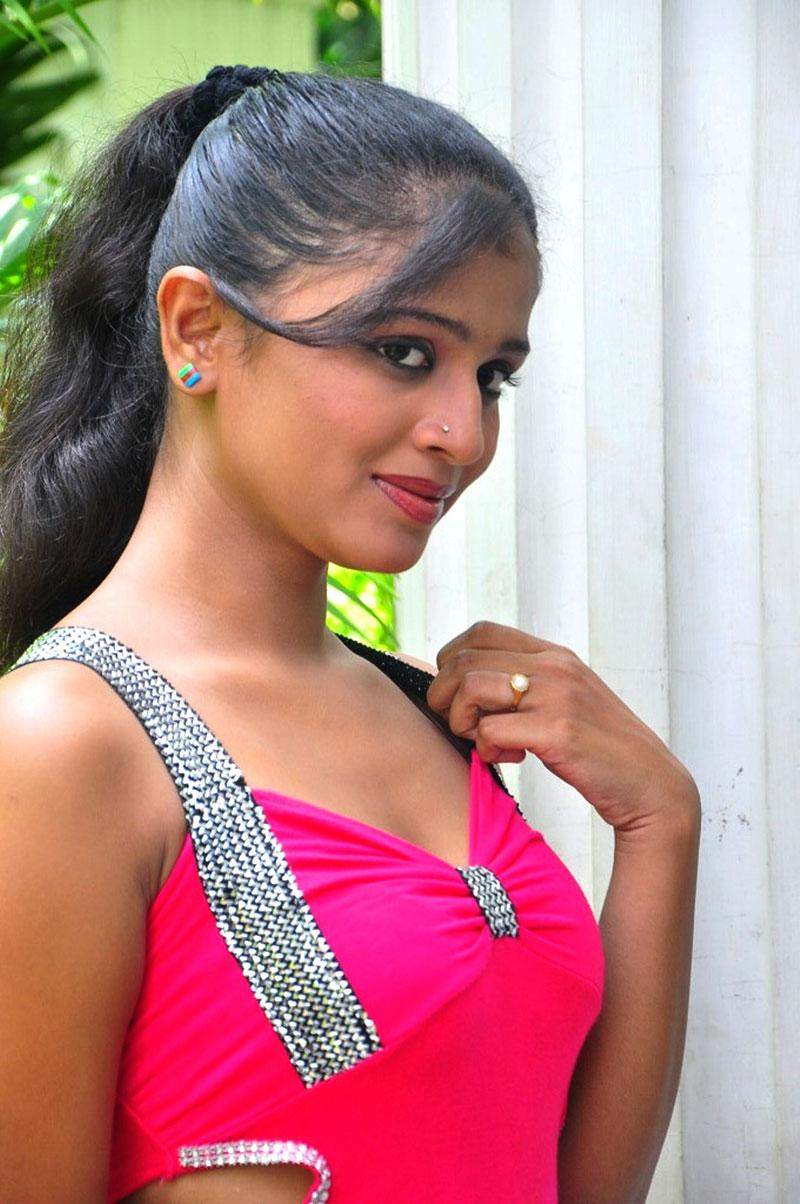Anusri hot in red dress, Anusri masala photos, Anusri Hot Stills in Pink Dress - VP (13)