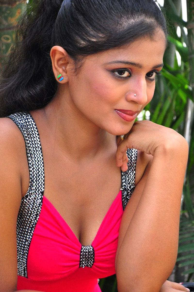 Anusri hot photos, Anusri spicy photos, Anusri masala photos, Anusri Hot Stills in Pink Dress - VP (3)