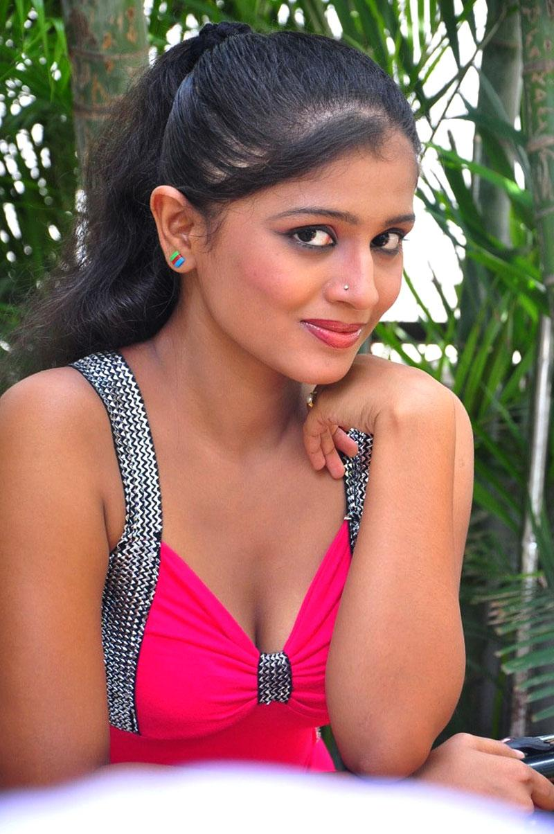 Anusri hot photos, Anusri masala photos, Anusri Hot Stills in Pink Dress - VP (4)