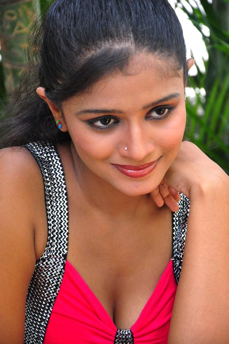 Anusri spicy pics, Anusri in red dress, Anusri Hot Stills in Pink Dress - VP (7)