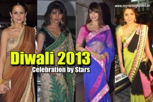 Bollywood Stars Celebrating Diwali 2013 : EXCLUSIVE PICS !!!