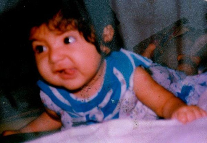 Anushka Sharma childhood pics, Anushka Sharma in her childhood