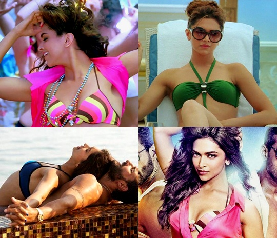 Deepika Padukone in Race 2, Deepika Padukone bikini photos in race 2, Deepika Padukone photos in race 2