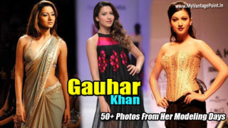 Gauhar Khan : Check out 50+ Photos of This Bigg Boss 7 Hottie from Her Modeling Days