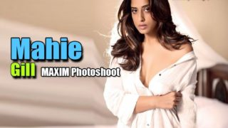 Mahie Gill Hot Photoshoot for Maxim India