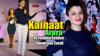 Kainaat Arora Hot Snaps At Femina Festive Showcase Event 2013