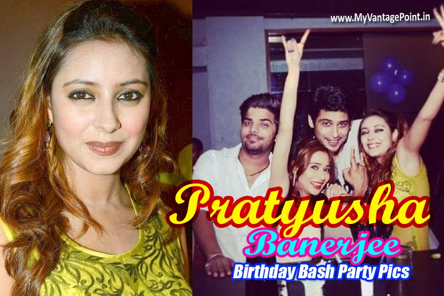 Pratyusha Banerjee hot pics, Pratyusha Banerjee birthday party pics, Pratyusha Banerjee in green dress, Pratyusha Banerjee hot photos