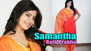 South Indian Cute Actress Samantha in Salwar Sweet Photos