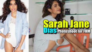 Bollywood Hottie Sarah Jane Dias Photos on FHM Magazine