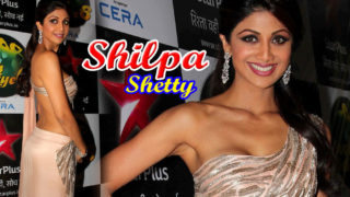 Shilpa Shetty Sizzles in Hot Saree at Nach Baliye Diwali Bash