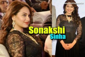 Sonakshi Sinha Beautiful Photos in Black Dress From An Event