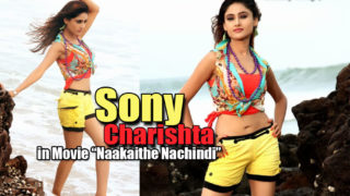 Sony Charishta's Sexy Beach Stills in Telugu Movie Naakaithe Nachindi