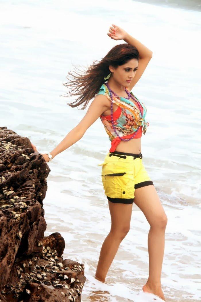Sony Charishta hot thighs, Sony Charishta sexy legs, Sony Charishta masala pics, Actress Sony Charishta in Naakaithe Nachindi Telugu Movie Stills