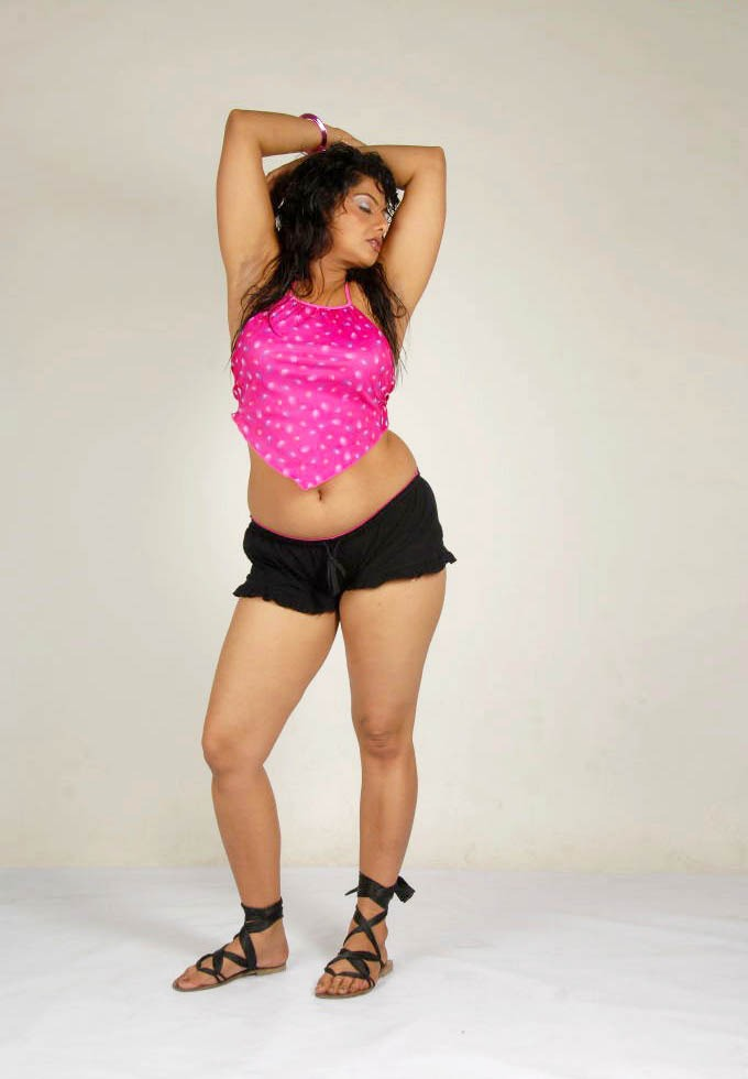 Swathi Varma Hot Photoshoot in Pink - VP (13)