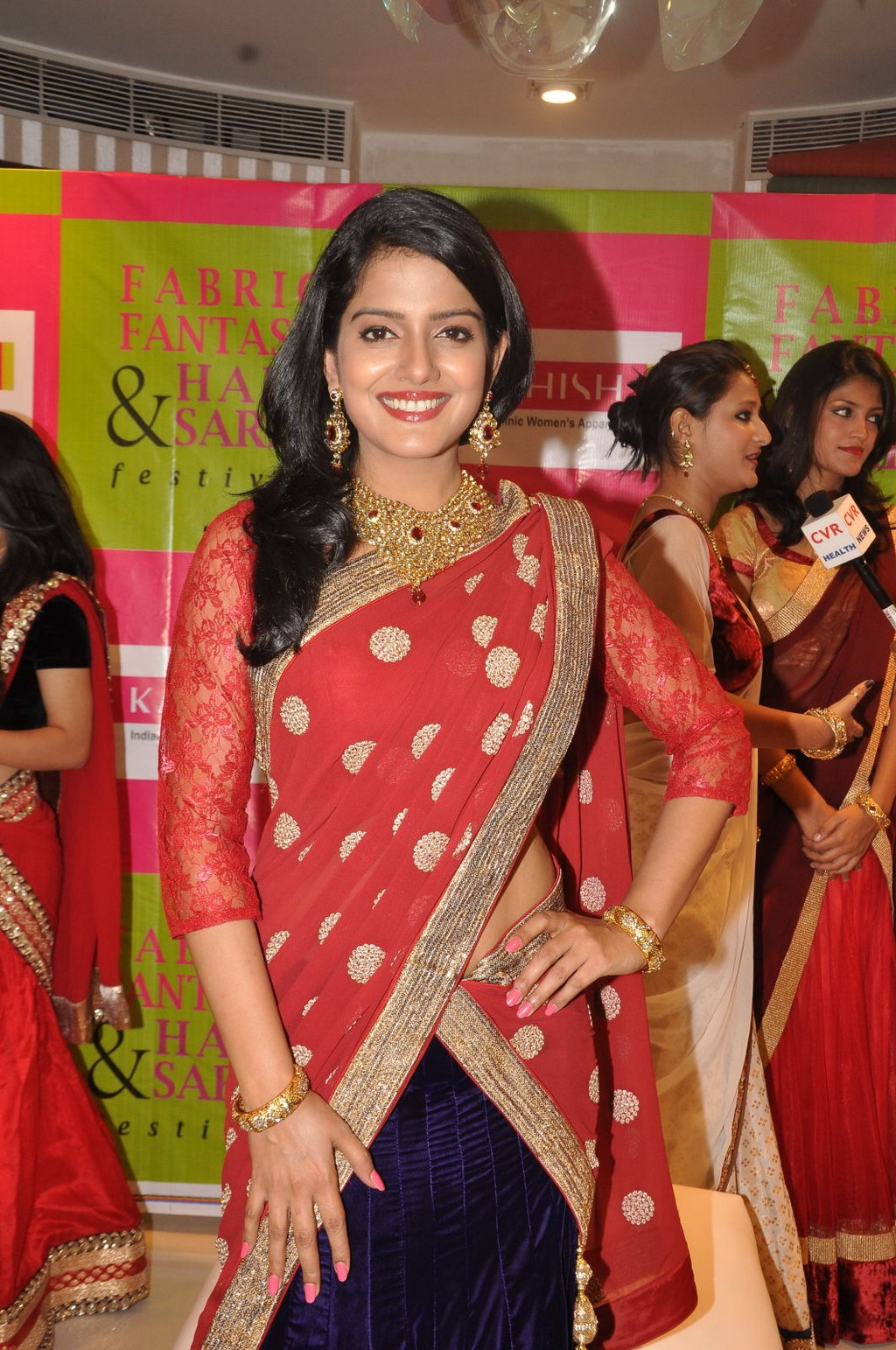 Vishakha Singh beautiful smile, Vishakha Singh lovely smile